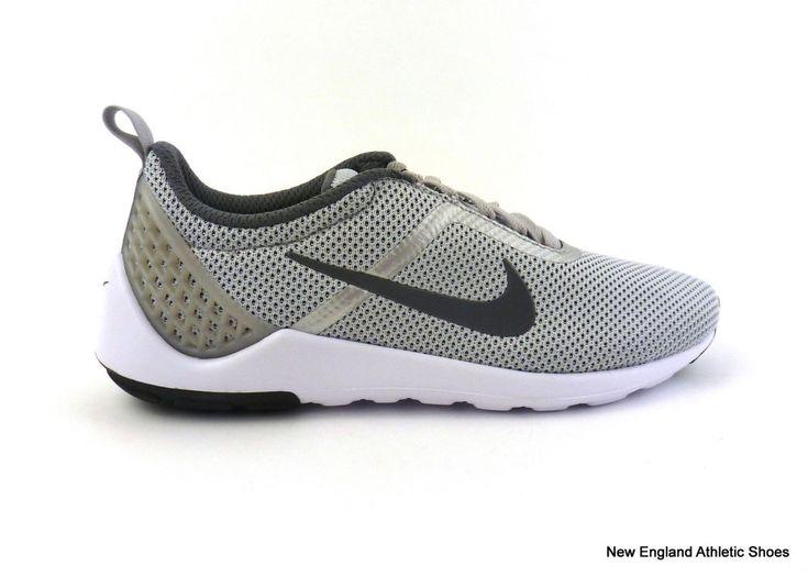 Nike men's Lunarestoa 2 Essential casual shoes sneakers Wolf Grey Dark Grey  NIB! #Nike