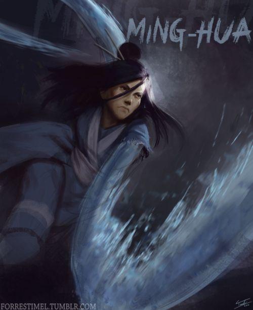 Ming-Hua | by Forrest Imel | Season 3: Change | Legend of Korra | Avatar