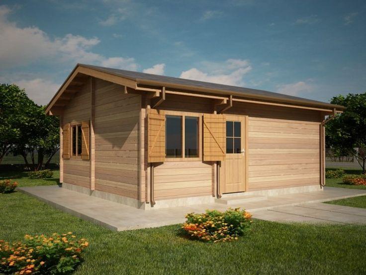 Houtskeletbouw Chalet Cordoba | Houten huis bouwen #housesforsale