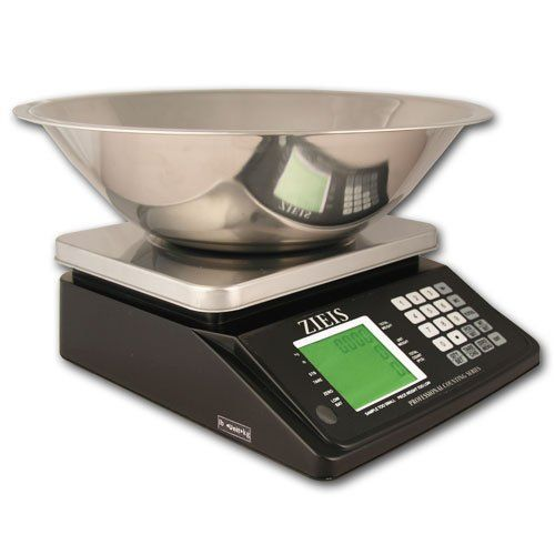 ZIEIS | 16 Lb. or 7500 Gram Capacity | Precision Digital Counting Scale | Z16-PCS | 11 x 8.7 Stainless Steel Platform | AC/DC w/ Rechargeable Battery | Surge Protector | 13Q BigTop Counting Bowl | 0.0005 lb or 0.2 Gram Accuracy by ZIEIS. $199.97. This ZIEIS counting scale offers HIGHER accuracy than most counting scales - allowing you to accurately count up to 16 pounds (7500g) of identical items that are as small as 0.2g each. Simply follow the easy...