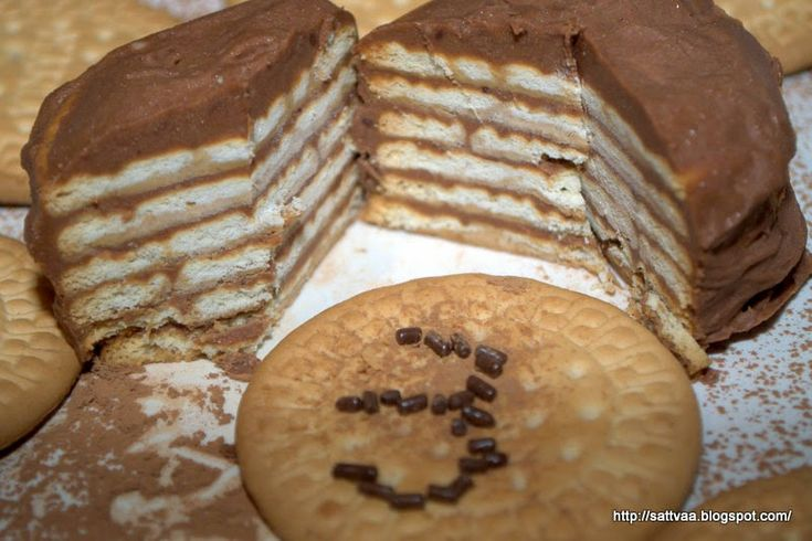 Sattvaa: Marie biscuit choco logs, good for celebration(s) ...