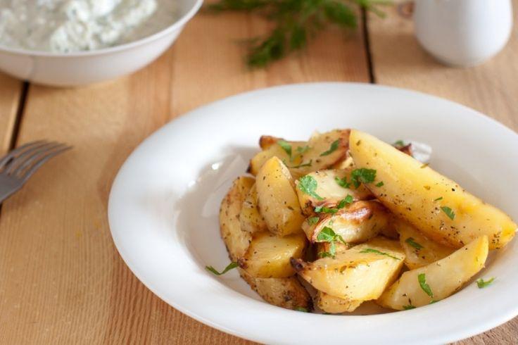 Ce soir, cuisinez vos pommes de terre à la grecque...un petit délice