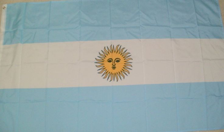 3x5 Flag Argentina Argentinian Indoor Outdoor Big Country Decor New