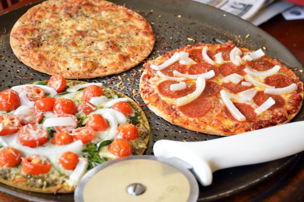 Fast & Easy Gourmet: Healthy Pizza Toppings For Individual Pizzas | Girls Gone Sporty