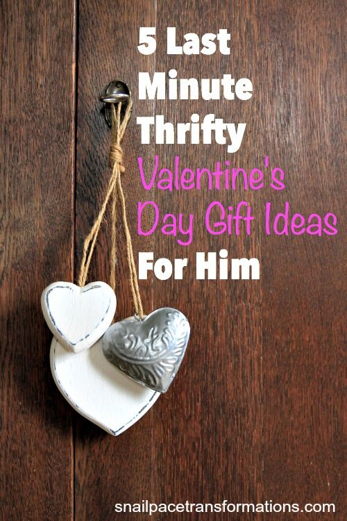 5 last minute thrifty valentine 39 s day gift ideas for him for Valentine day gifts for him ideas