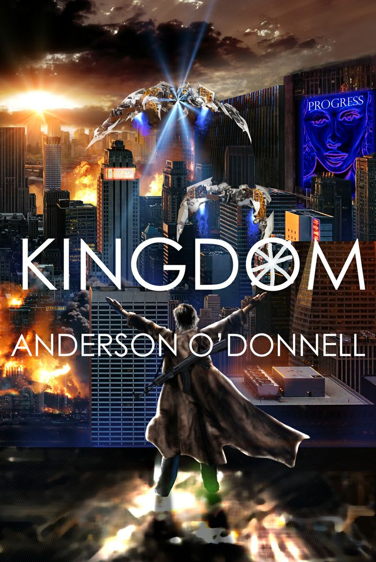 Cover to Kingdom by Anderson O'Donnell from Seventh Star Press