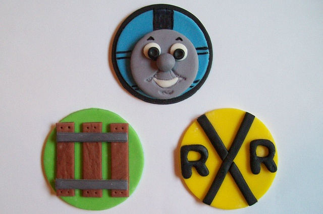 Thomas Cupcake Toppers by robin33smith, via Flickr