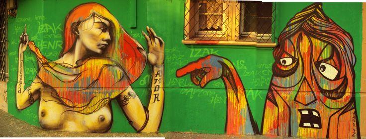Mujer en la esquina. Chile