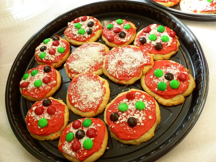 Nija Turtle pizzas instead of cake! Take a Sugar cookie, add red food coloring to icing for the sauce, top it with colored MM's as the topping for the pizza and last grate some almond bark for the cheese. My sister just did this for my nephews birthday. The kids loved them!