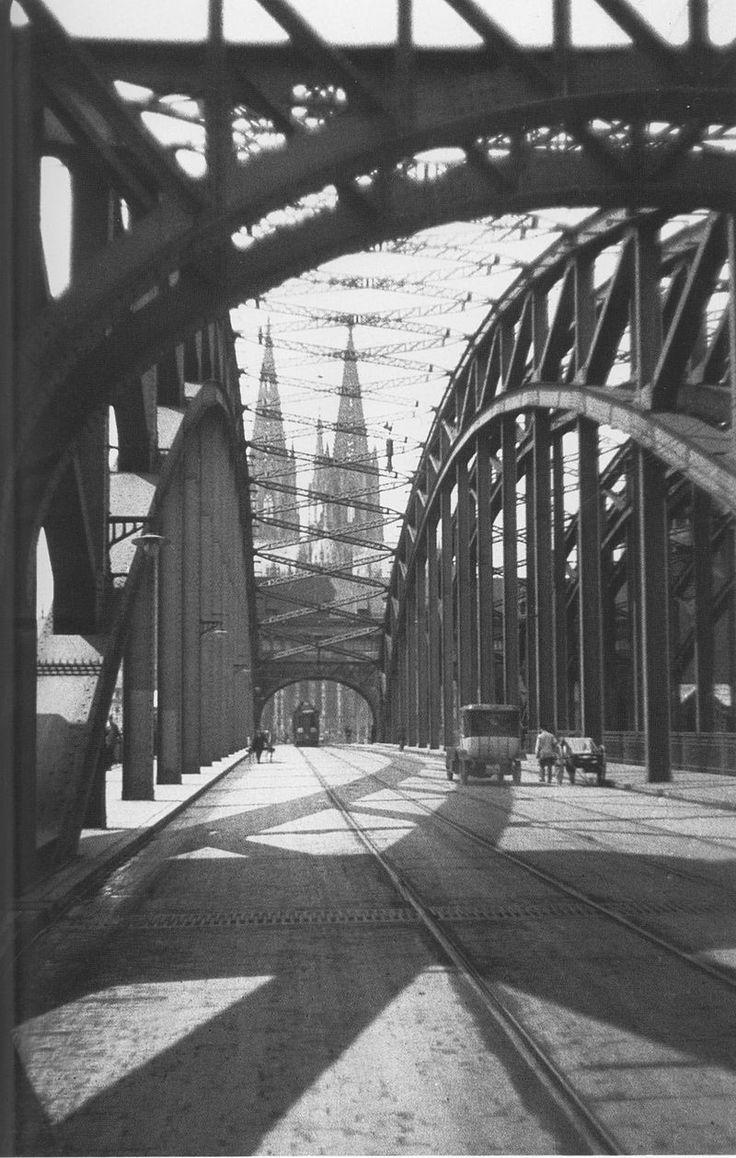 Oskar Barnack: Brücke und Kölner Dom