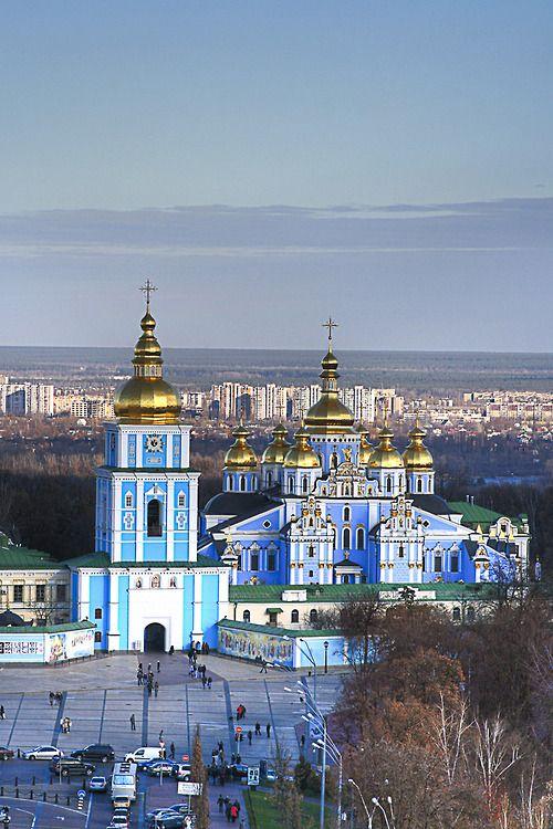 St. Michael's Golden-Domed Monastery - Kiev - Ukraine (von Matt. Create.)