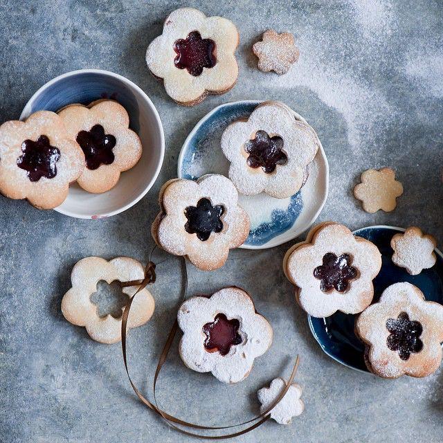 Печенье с джемом. #печенье #джем #варенье #выпечка #cookies #jam #baking