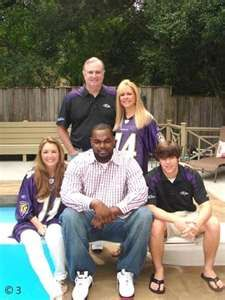 Michael Oher and the Tuhoy Family, his family.