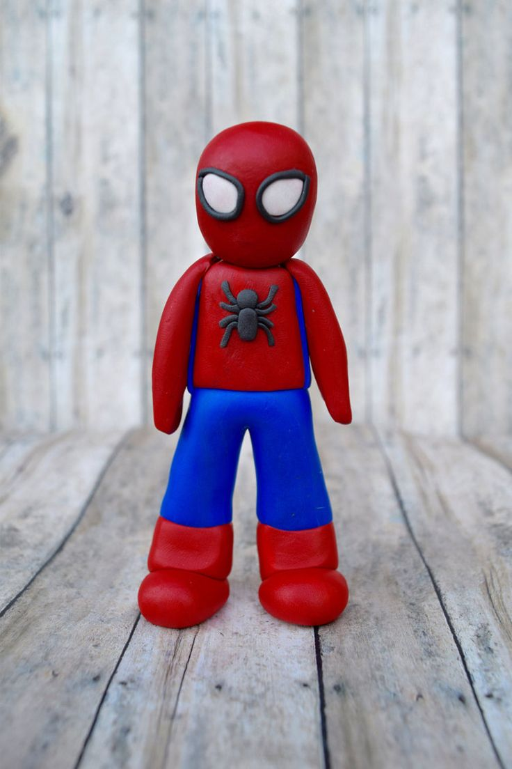 25 Best Ideas About Spiderman Cake Topper On Pinterest
