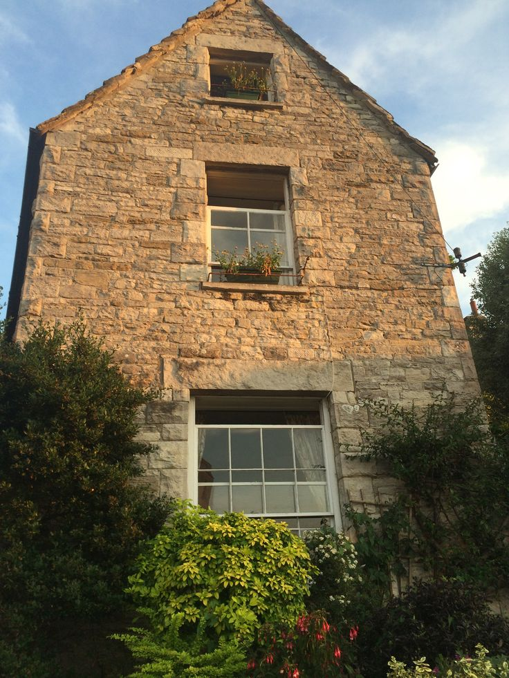 Swanage Gable End near the Mill Pond