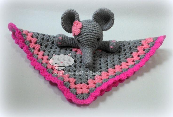 Amigurumi Manta De Apego : Manta de Apego! Baby crochet Pinterest