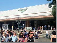The Venezia-Santa Lucia train station (ferrovia) in Venice, Italy