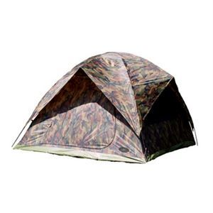 """Texsport Headquarters Square Dome Tent - Sleeps up to five people - Heavy-duty taffeta walls and rain fly are polyurethane coated - Rip-stop polyethylene floor - Dual pole, pin and ring frame system with shock-corded fiberglass poles - Durable speed clips secure tent to frame - Large """"no-see-um"""" mesh """"D""""style front door with zippered storm flap - Three """"no-see-um"""" mesh windows and roof panels provide superior ventilation..."""