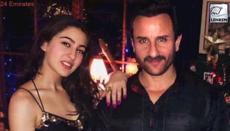 Sara Ali Khan Parties With Dad Saif Ali Khan