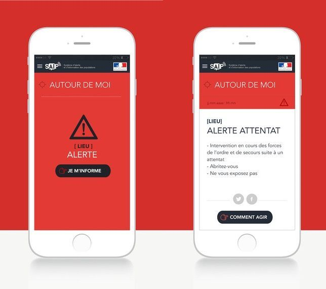France launches terror alert app ahead of Euro 2016 tournament | The Verge