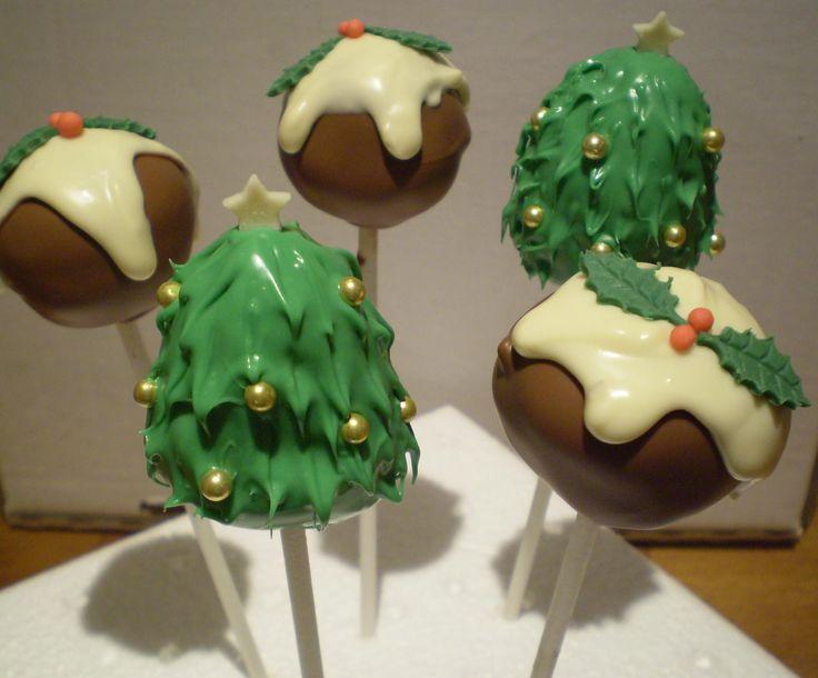 Cake Decorating Classes Dorset : Christmas Cake Pops Cake Pop Gallery Pinterest ...