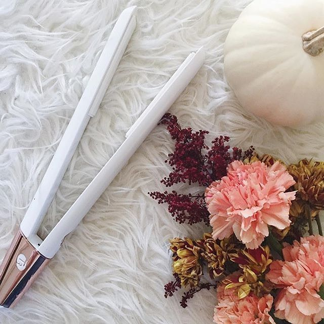 """""""Introducing the best straightener you will ever use! You guys, I NEVER styled my hair straight until I tried this #T3Micro SinglePass LUXE. Silky, lustrous, and long lasting results without overexposure? Sign me up! Did I mention I also use it to curl my hair as well!?"""" -@kissmedarlingxo, T3 fan."""