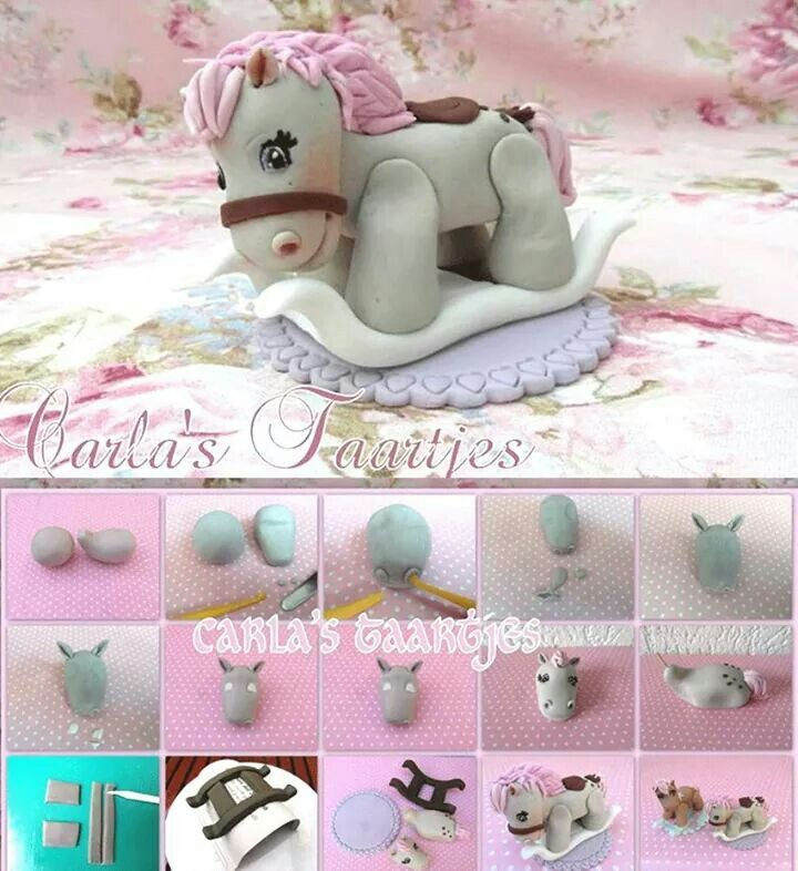 Rocking Horse Topper Picture Tutorial