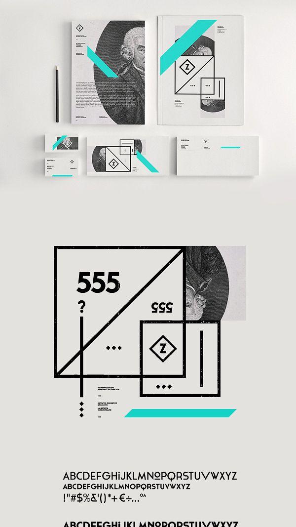 Zdunkiewicz Studio / Self Promotion by Zdunkiewicz , via Behance