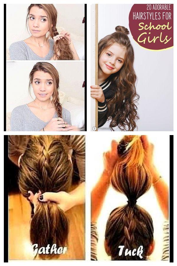 Pin On Frisuren Fur Die Schule