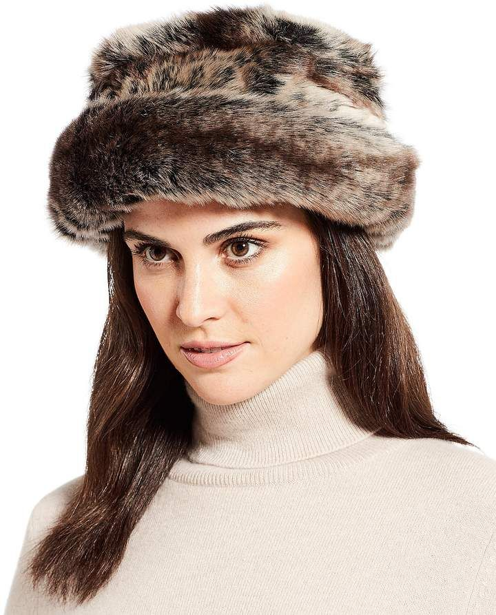 Parkhurst Ladies  Josephine Faux-Fur Hat affiliatelink Dillards 5a4f267227b