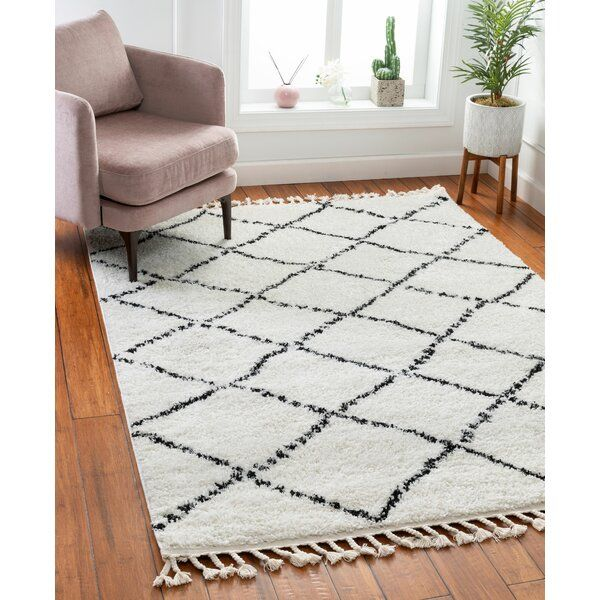 Melody Patli Moroccan Lattice Ivory Area Rug In 2020 Area Rugs