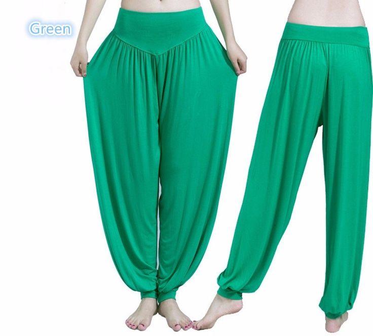 Yoga Elastic Harem Trousers
