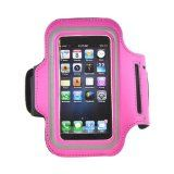 EAGLETOO+ Sport Armband Case for Apple Iphone 5/5C/5S, IPod Touch 5 protection when Running, Jogging & Workouts, with key pocket, Includes Front and Back Screen Protector best deal and quality! (Pink) by Eagletoo Discount Co.