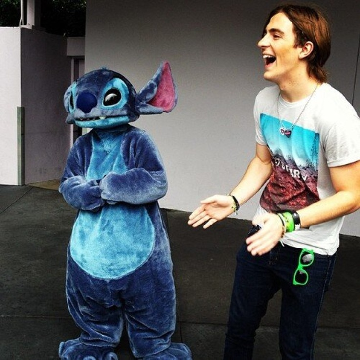 Rocky and Stich would be a way better movie than Lilo and Stich. Am I right #R5family
