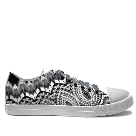 idxshoes.com - Low-Top Sneakers  #blackandwhite #shoes #canvashoes #modernshoes #mandala #mandalas #abstract #fashionista #fashionblogger #fashionable #summer #summershoes #haroulita
