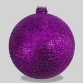 70mm Purple Glitter Ball Code: BALLME7PUGL