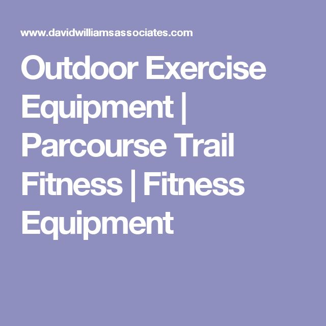 Outdoor Exercise Equipment | Parcourse Trail Fitness | Fitness Equipment