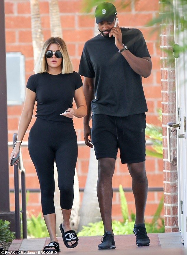 Spending quality time together! On Friday, Khloe Kardashian, 33, and boyfriend Tristan Thompson, 26, took a couple's date to SEV Laser Aesthetics in Los Angeles