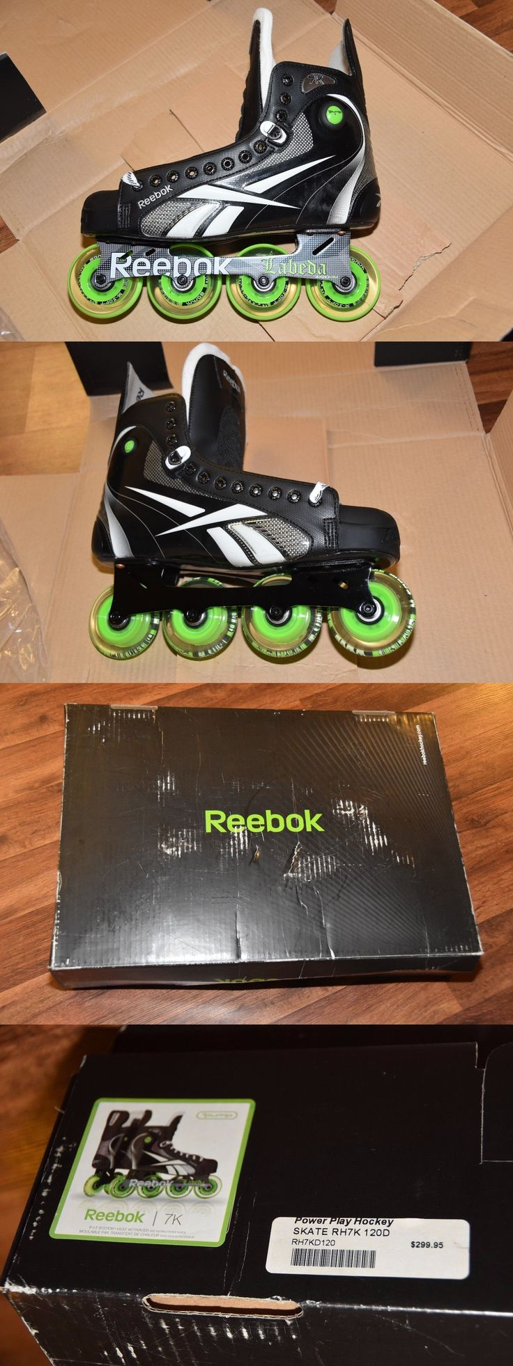 Roller Hockey 64669: Brand New Size 12 Men S Reebok 7K Pump Inline Power Play Hockey Skates Labeda -> BUY IT NOW ONLY: $249.95 on eBay!