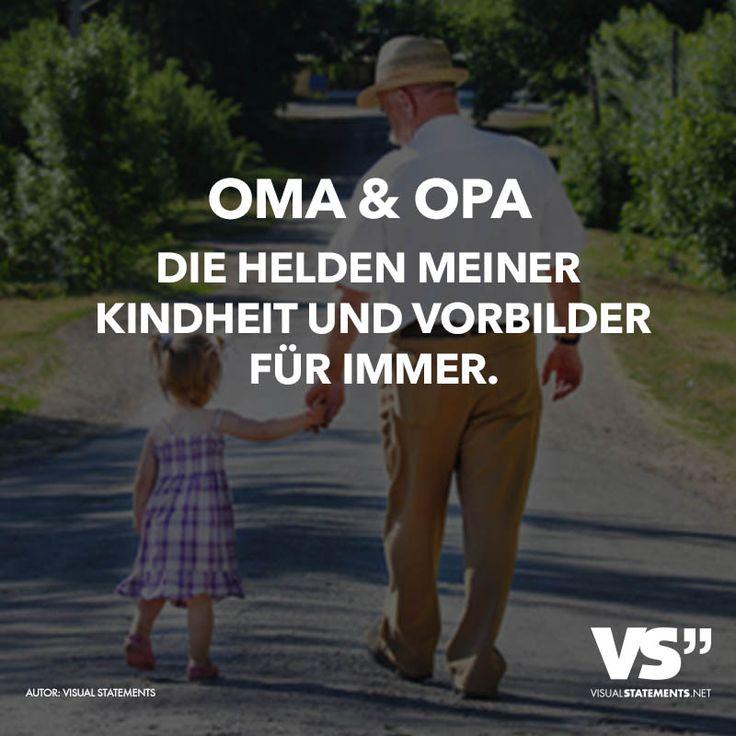 Oma und Opa. Die Helden meiner Kindheit und Vorbilder für immer.