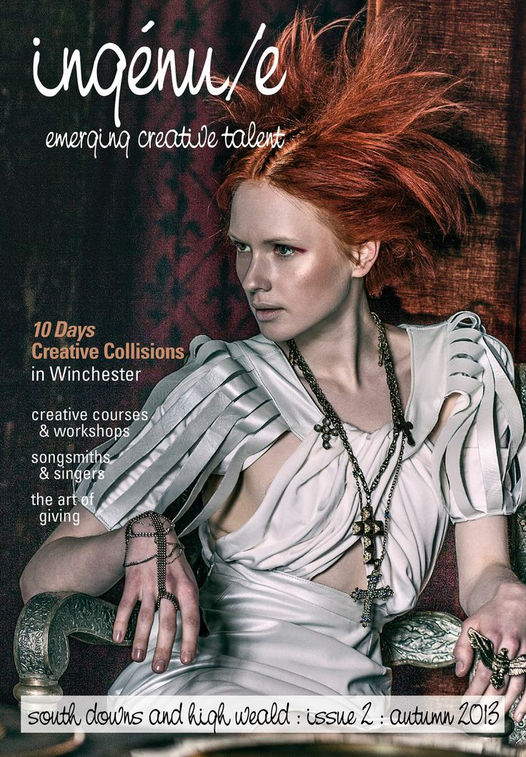 front cover of issue 2 of ingénu/e magazine, photograph by the amazing Montana Lowery