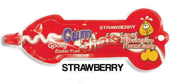 Looking for the newest in tasty bachelorette party sweets, well these new Flavored Liquid Marshmallow Cum Shot In two great flavors are bound to have the girls in stitches ... and they are really tasty, both Strawberry and Cotton Candy Flavors!!  www.BachelorettePartyFun.com