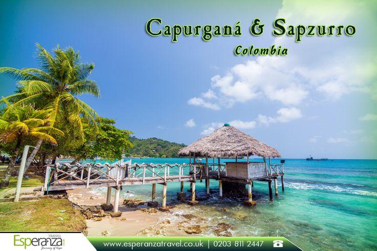 Capurgana Sapzurro, Colombia     Find #Cheap #Flights and #Travel packages. More Details : http://www.esperanzatravel.co.uk/      #SouthAmerica #Colombia #Capurgana #Sapzurro #CaribbeanSea #SmallWharf #FlightstoColombia #FlightstoSouthAmerica — in Colombia.