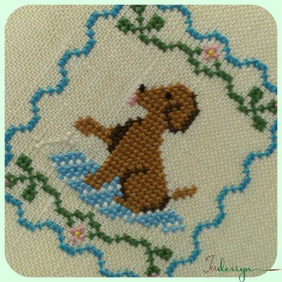 Check out this item in my Etsy shop https://www.etsy.com/listing/288620375/my-little-dog-cross-stitch-pattern