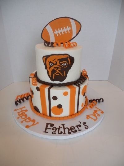 Cleveland Brown Cleveland Browns By SugarKissesCakery on Cleveland Brown jerseys