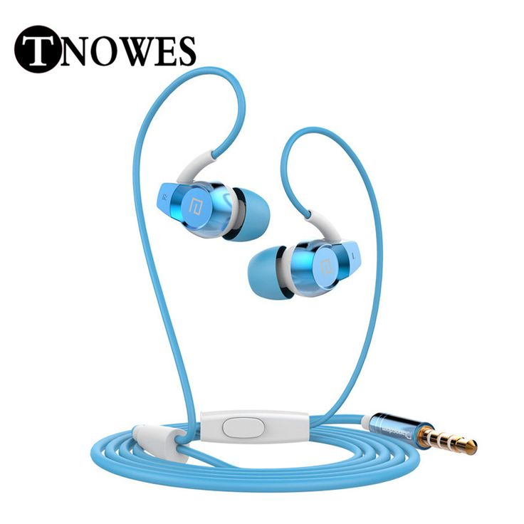 High Quality Headphone Earphone Metal Housing Wired Control In-ear Headsets Super Clear Bass Sound With Mic For All Mobile Phone