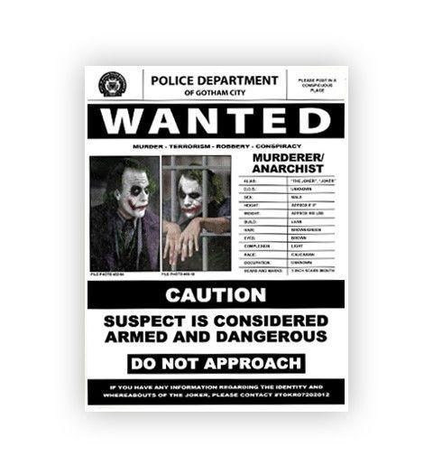 The Dark Knight Gotham City Police Badge replica movie prop  Dark City Movie Props