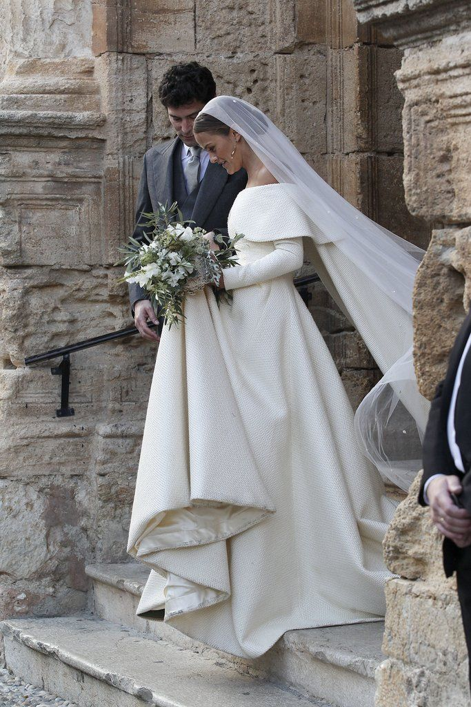 Lady Charlotte Wellesley's wedding gown is too beautiful to unsee.