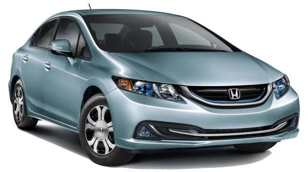 2013 Honda Civic Hybrid 1.5L CVT Automatic Sedan