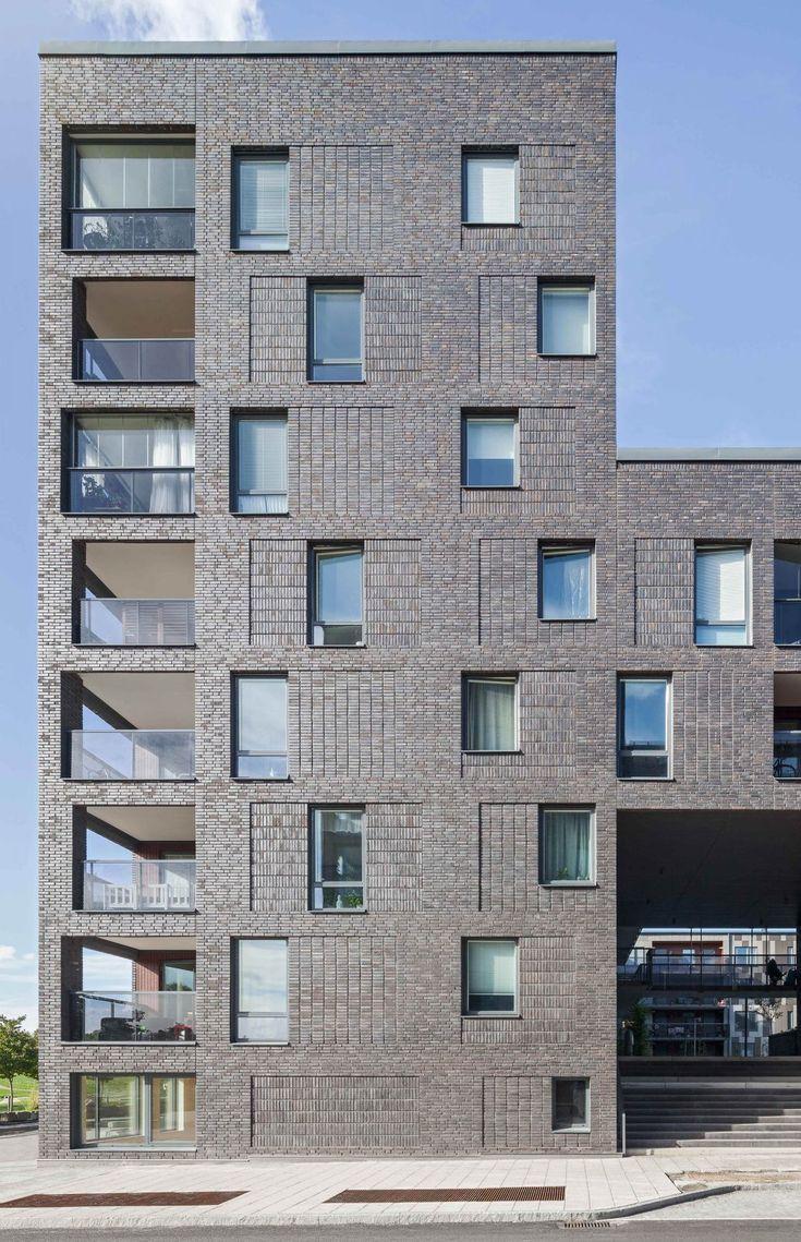 Kjellander Sjöberg - Maja Gräddnos - Front facade